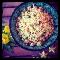 Festive quinoa salad https://naturalhealthconsciousliving.com/2014/11/23/festive-quinoa-with-roasted-grapes-walnuts-gluten-free/