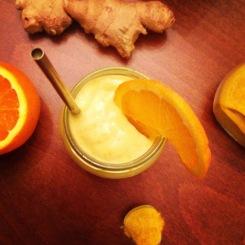 Mango orange & turmeric smoothie https://naturalhealthconsciousliving.com/2014/11/17/mango-orange-turmeric-smoothie/