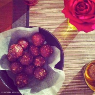 Choc peppermint truffles https://naturalhealthconsciousliving.com/2015/02/04/choc-peppermint-truffles-raw-vegan/