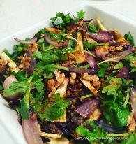 Lentil & roasted parsnip salad https://naturalhealthconsciousliving.com/2016/04/11/lentil-roasted-parsnip-salad-gf/