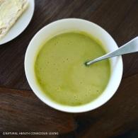 Creamy celery soup https://naturalhealthconsciousliving.com/2016/05/23/creamy-celery-soup-vegan-gf/