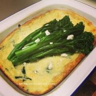 Silverbeet penne & goats cheese soufflé https://naturalhealthconsciousliving.com/2016/06/28/silver-beet-penne-goats-cheese-souffle-vegetarian-gf/