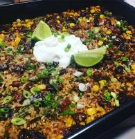 Mexican rice & bean bake https://naturalhealthconsciousliving.com/2016/11/25/mexican-rice-bean-bake/