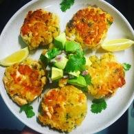 Chunky salmon patties https://naturalhealthconsciousliving.com/2017/07/12/chunky-salmon-patties/