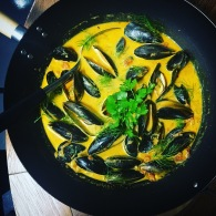 Chilli coconut curry mussels https://naturalhealthconsciousliving.com/blog/