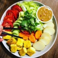 Gado Gado https://naturalhealthconsciousliving.com/2018/01/15/gada-gado-the-simplest-peanut-sauce-plus-cooking-with-essential-oils/