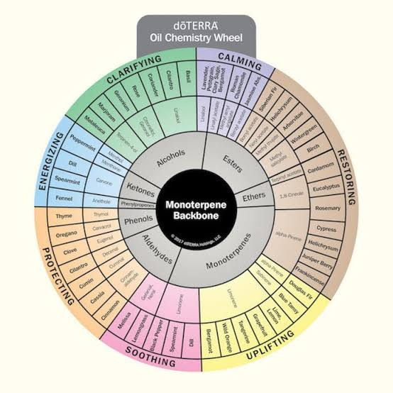 doTERRA Oil Chemistry Wheel