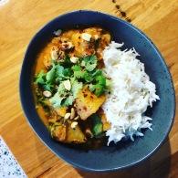 Potato, carrot, chickpea + spinach peanut curry https://naturalhealthconsciousliving.com/2020/03/16/potato-carrot-chickpea-spinach-peanut-curry-slow-cooked-vegan/