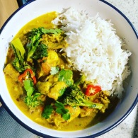Chicken curry with broccoli https://naturalhealthconsciousliving.com/2020/07/08/chicken-curry-with-broccoli/